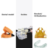 High-Precision 3D UV Resin Printer Germany import Strong Light source for Jewelry and dentistry